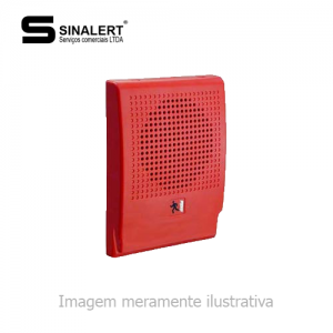 G4R-S7 – SIRENE AUDIOVISUAL VERMELHA