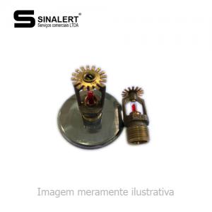 SPRINKLER PENDENTE UL 1/2″ 74º VIKING (COM CANOPLA)