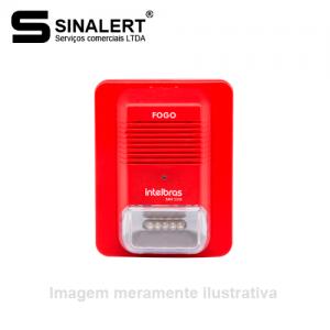 SAV 520E – SIRENE AUDIOVISUAL ENDEREÇÁVEL